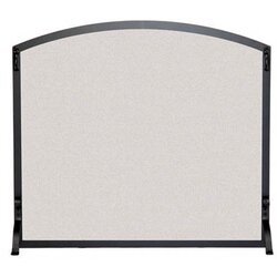 Pilgrim Hearth Arched Single Panel Wire Mesh Fireplace Screen ...