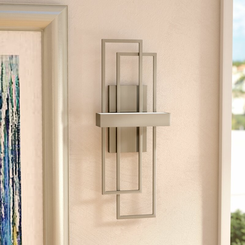 Wade Logan Callington 1 Light Wall Sconce Amp Reviews Wayfair