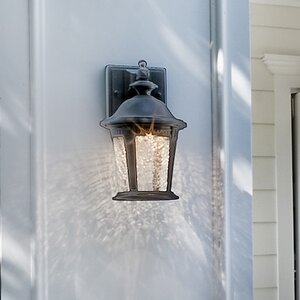 Arsenault 1-Light Outdoor Wall Lantern