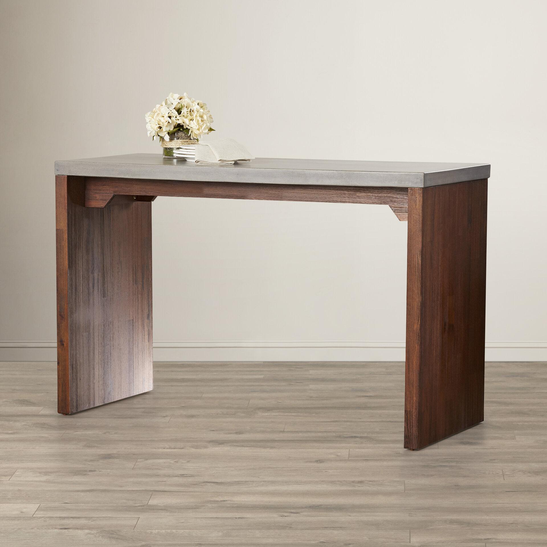 Sunpan modern madrid counter height pub table reviews wayfair watchthetrailerfo