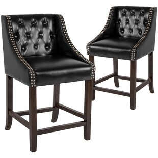 Enriquez 24 Bar Stool (Set Of 2) 2019 Online