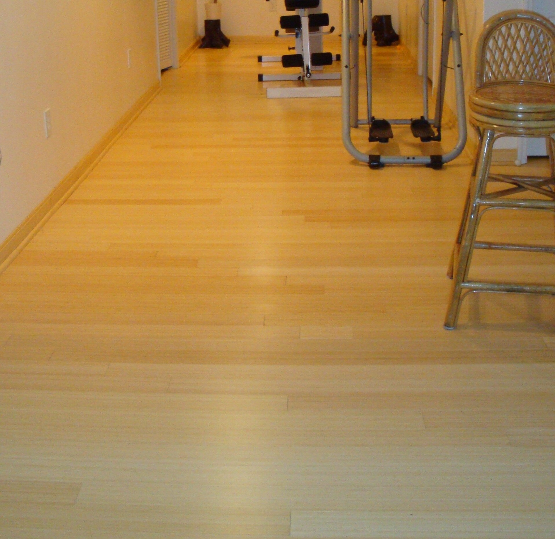 "Hawa 3 3 4"" Solid Bamboo Flooring in Natural Matte & Reviews"