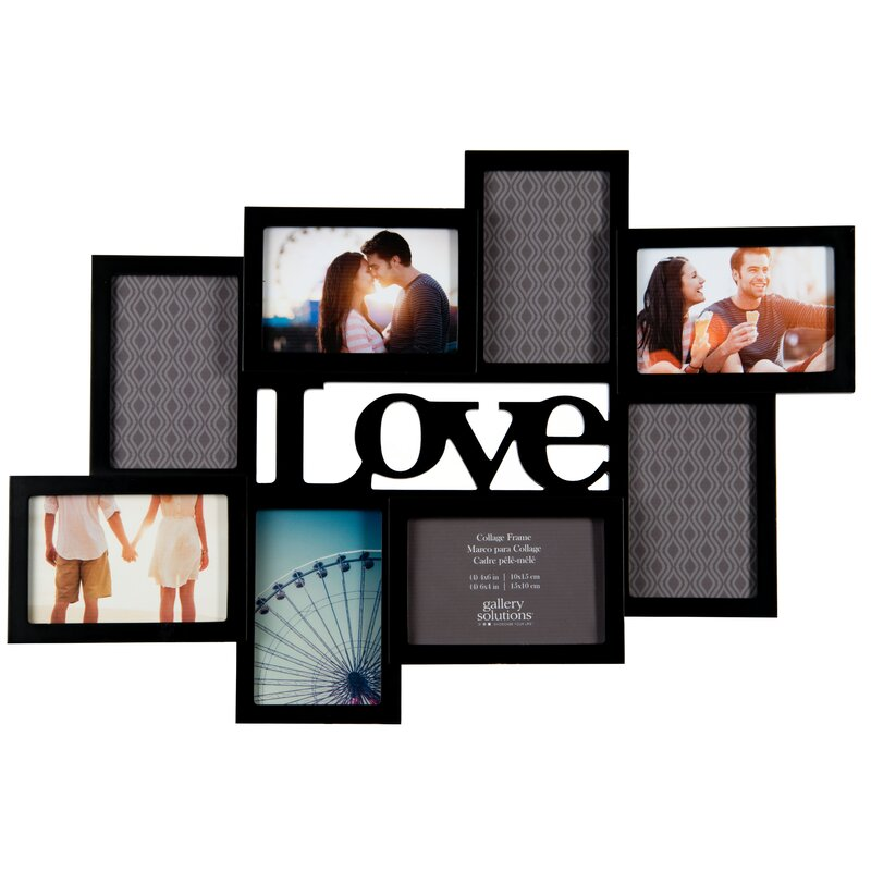Lujo 4 Abertura Del Marco 8x10 Collage Galería - Ideas ...