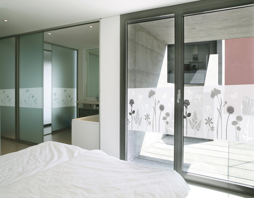 wallpops dc fix blossom window film reviews wayfair. Black Bedroom Furniture Sets. Home Design Ideas