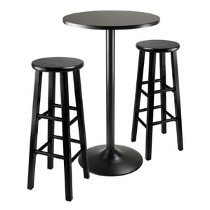 3 Piece Pub Table Set by Luxury Home