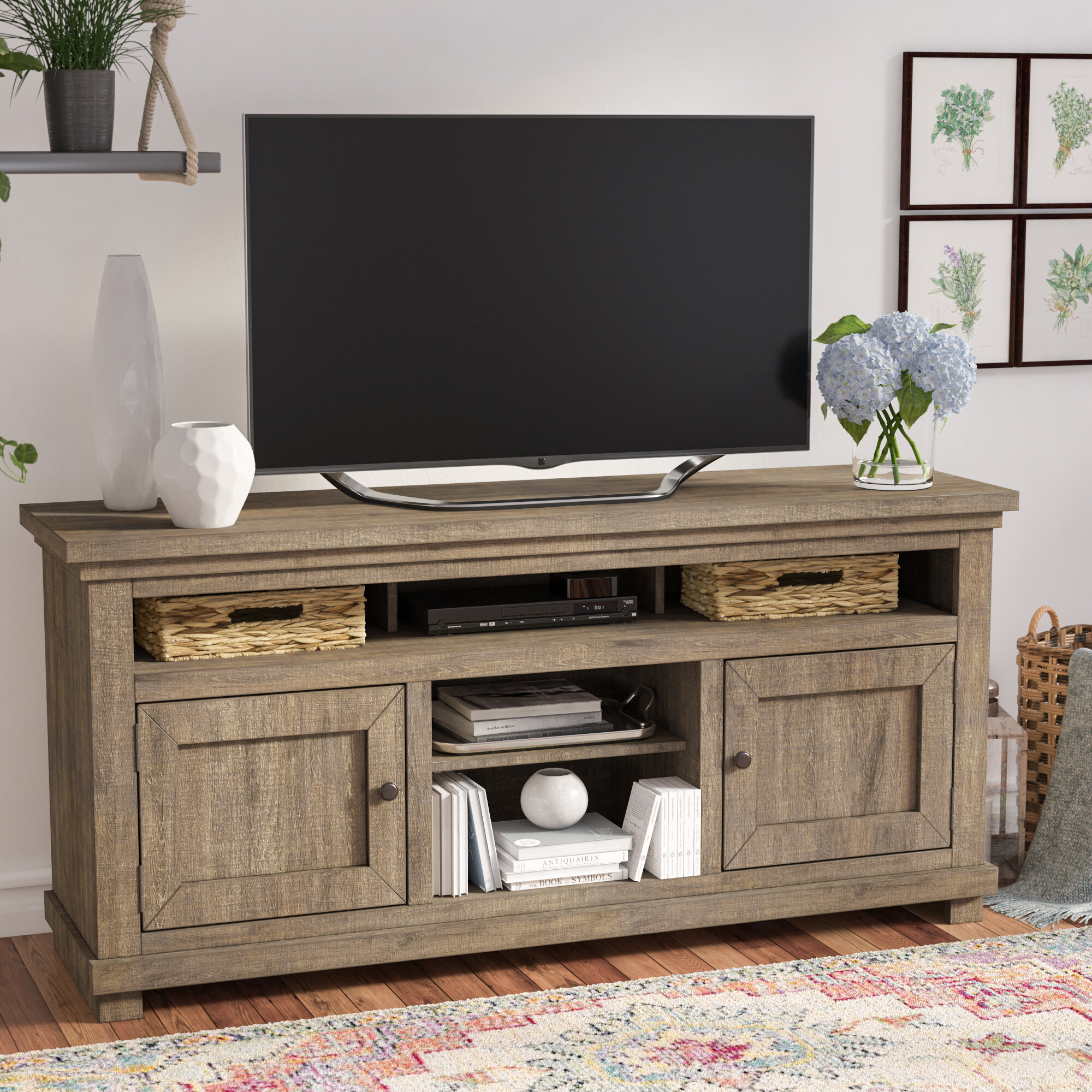 Sound Bar Shelf Tv Stands Youll Love Wayfair