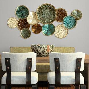 Multi Plates Wall Décor & Tuscan Wall Decor Plates   Wayfair