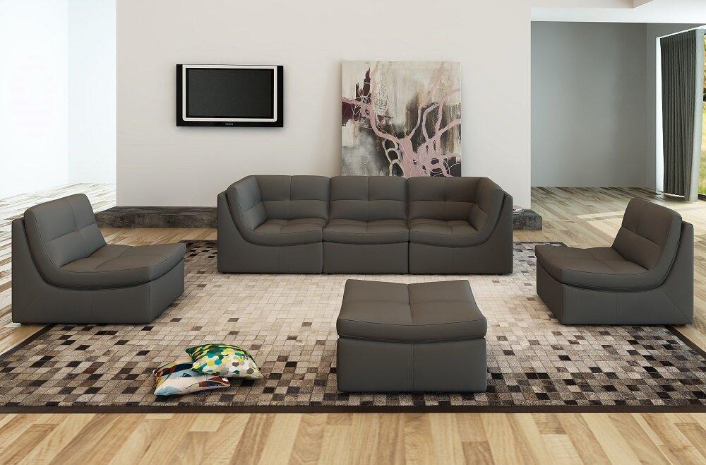 Living Room Sets With Ottoman Wayfair