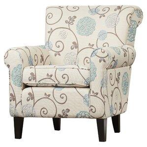 Elyse Arm ChairAccent Chairs   Joss   Main. Aqua Leather Accent Chair. Home Design Ideas