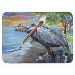 Pelican View Memory Foam Bath Rug