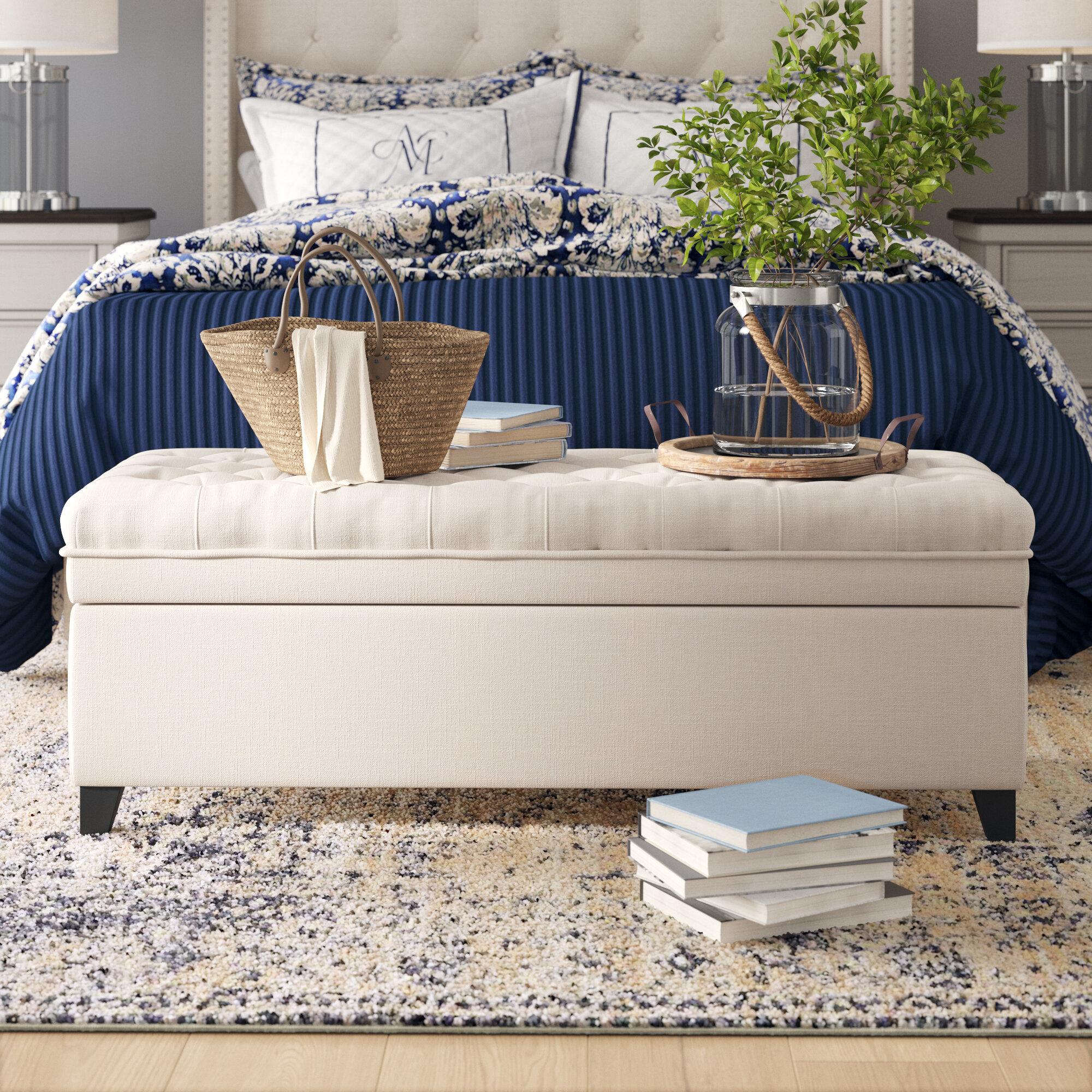 Terrific Birch Lane Heritage Logan Tufted Storage Ottoman Andrewgaddart Wooden Chair Designs For Living Room Andrewgaddartcom