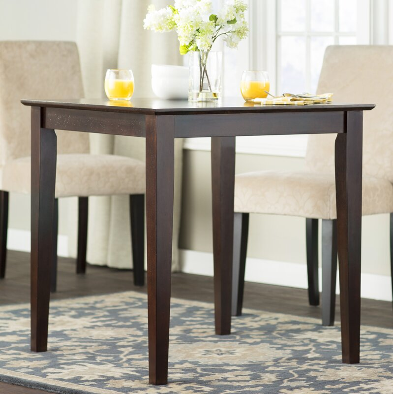 Charlton Home Frost Square Dining Table & Reviews | Wayfair