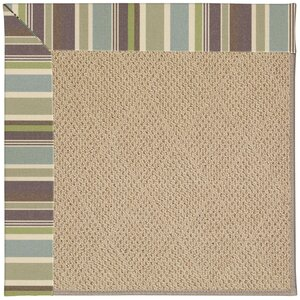 Zoe Machine Tufted Multi-colored/Beige Indoor/Outdoor Area Rug