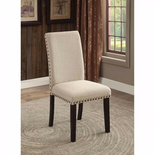 Amet Transitional Upholstered Dining Chair (Set of 2)