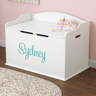Personalized Toy Storage Bench & Toy Boxes u0026 Benches