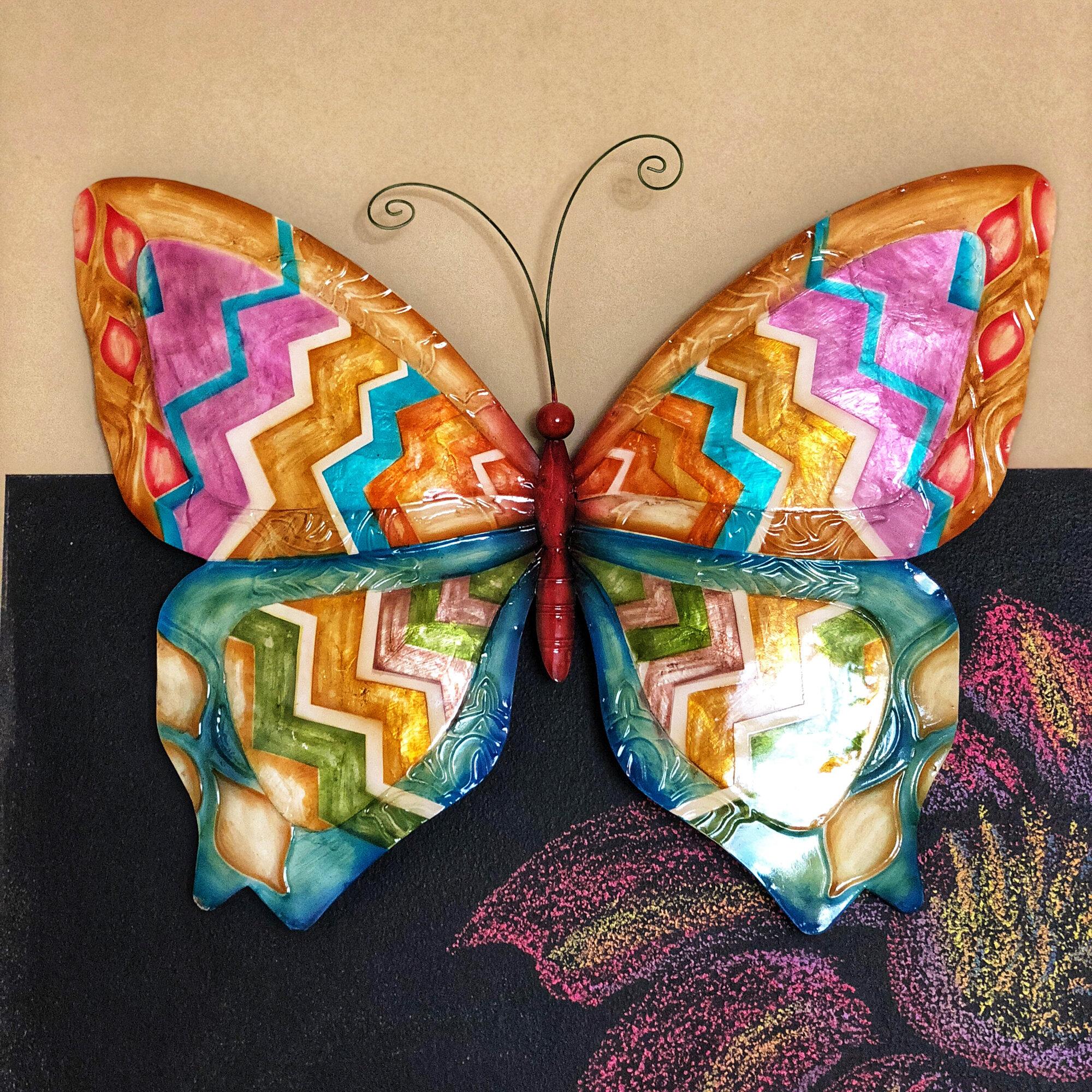 August Grove Butterfly Wall Décor