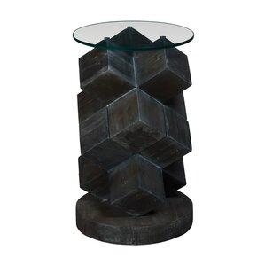 Arcene Modern Art Deco End Table by Bloomsbu..