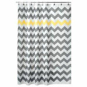 Yellow & Gold Shower Curtains You\'ll Love | Wayfair