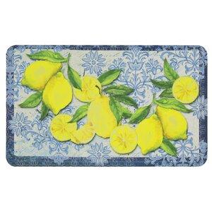 Griggsville Fruit Theme Kitchen Mat