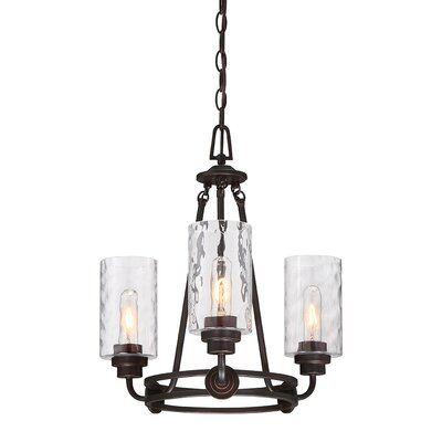 Gracie oaks burtondale indoor 3 light shaded chandelier reviews westhope 3 light shaded chandelier aloadofball Images