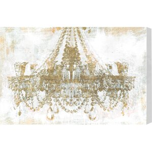 gold diamonds canvas print oliver gal