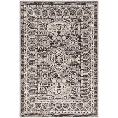 Charlton Home Shoshana Beige/Gray Rug Rug Size: Rectangle 5' x 7'6