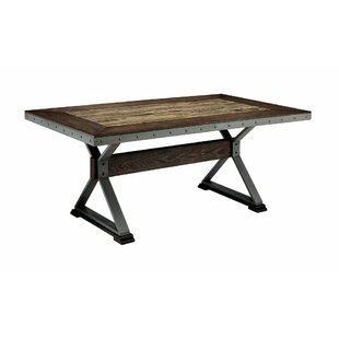 Mcconnell Retro Wooden Dining Table