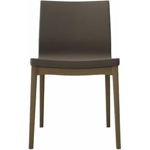 Modern Genuine Leather Dining Chairs | AllModern