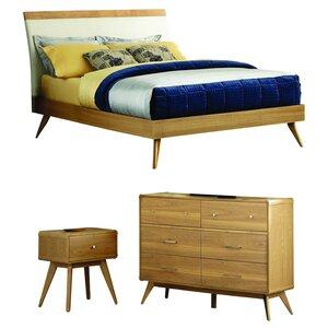 Modern Full / Double Bedroom Sets | AllModern