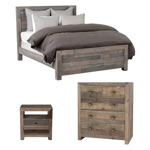 Norman Panel Bed Customizable Bedroom Set