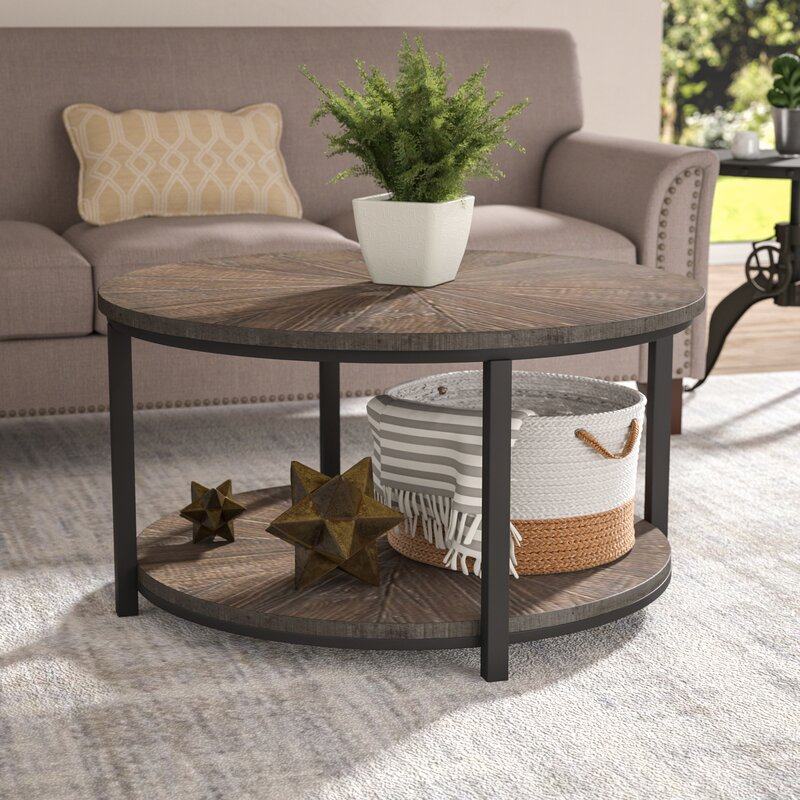 Modern Farmhouse Coffee Table: Laurel Foundry Modern Farmhouse Dalton Gardens Coffee
