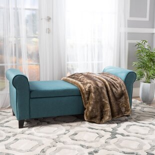 Teal Storage Bench | Wayfair