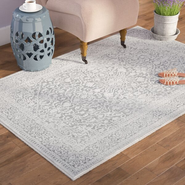 Pellot Light Gray Cream Area Rug Amp Reviews Joss Amp Main