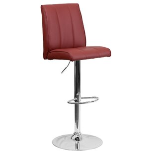 Winnols Adjustable Height Swivel Bar Stool (Set of 2)