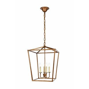 Ordinaire Sennett 4 Light Foyer Pendant