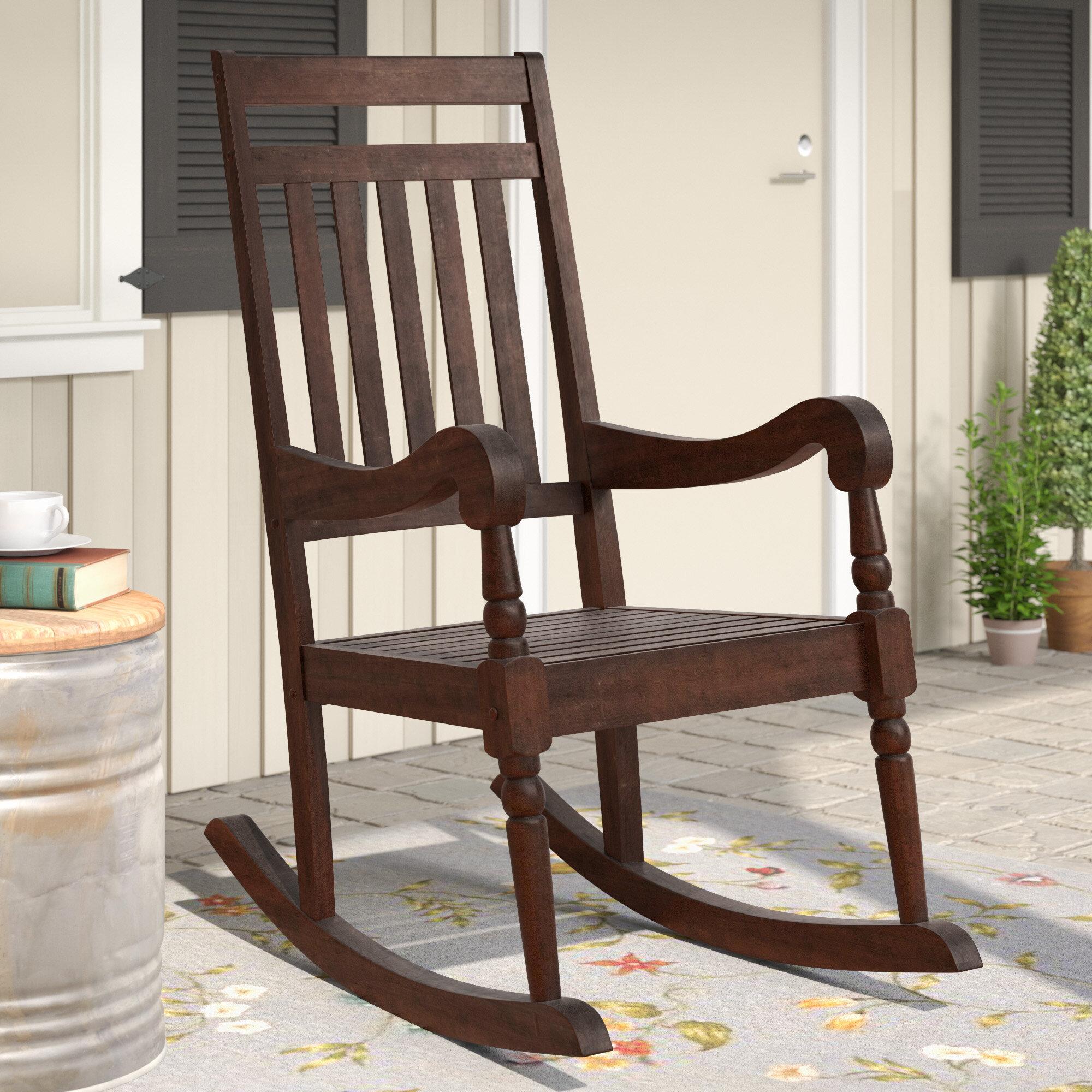 Laurel Foundry Modern Farmhouse Glen Ullin Modern Rocking Chair U0026 Reviews |  Wayfair