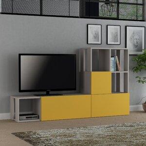 Wohnw nde farbe gelb for Wohnwand 2 70