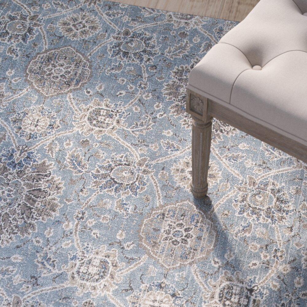 slate blue area rug - rug designs