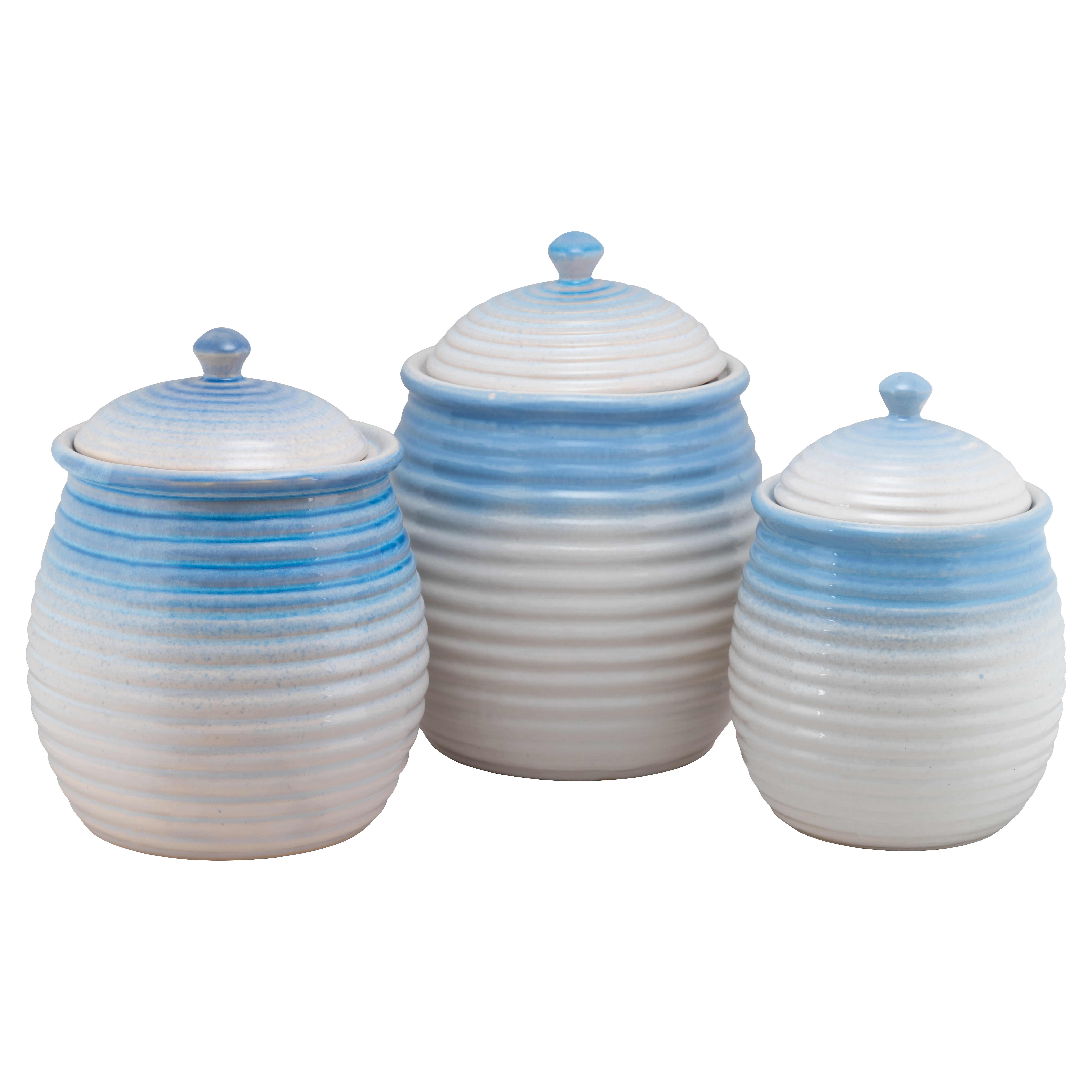 August Grove 3 Piece Kitchen Canister Set | Wayfair