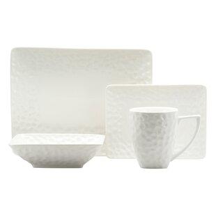 Vanilla Marble Rectangular 16 Piece Dinnerware Set Service for 4. by Red Vanilla  sc 1 st  Wayfair & Red Vanilla Dinnerware Sets You\u0027ll Love | Wayfair