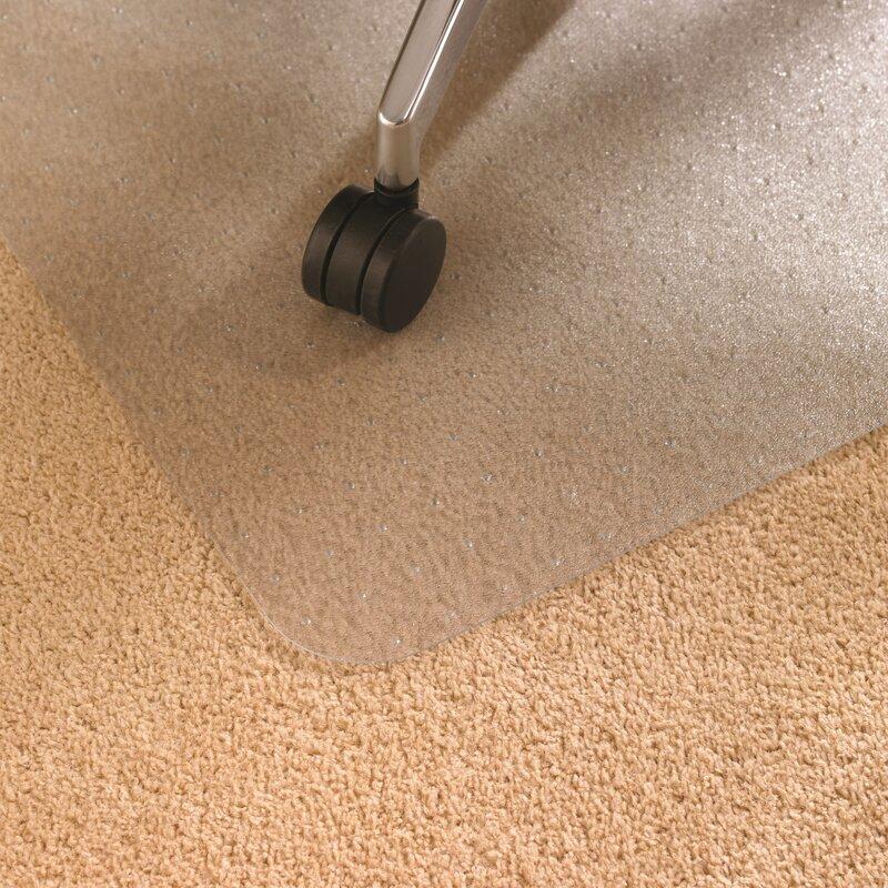 Cleartex Advantagemat Low Pile Carpet Straight Edge Chair Mat