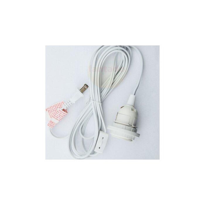 Thepaperlanternstore single socket pendant light cord kit reviews single socket pendant light cord kit aloadofball Image collections