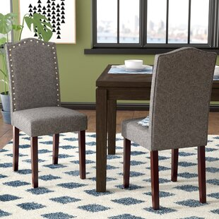 Delicieux Lepore Upholstered Nailhead Parsons Chair (Set Of 2)