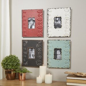 Wall Picture Frame Set metal square picture frames you'll love | wayfair