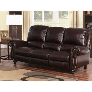Kahle Leather Reclining Sofa