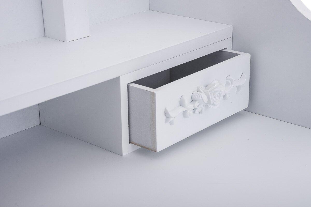 dcor design schminktisch casape mit spiegel bewertungen. Black Bedroom Furniture Sets. Home Design Ideas