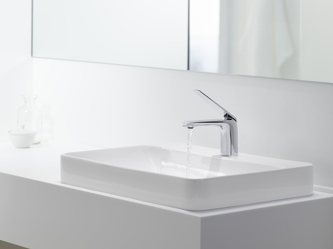 vox rectangular vessel bathroom sink