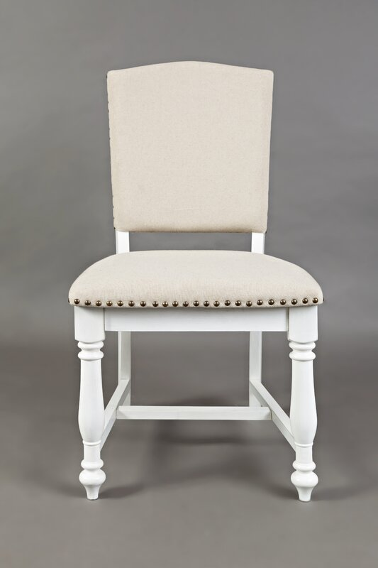 August Grove Bluebonnet Upholstered Dining Chair