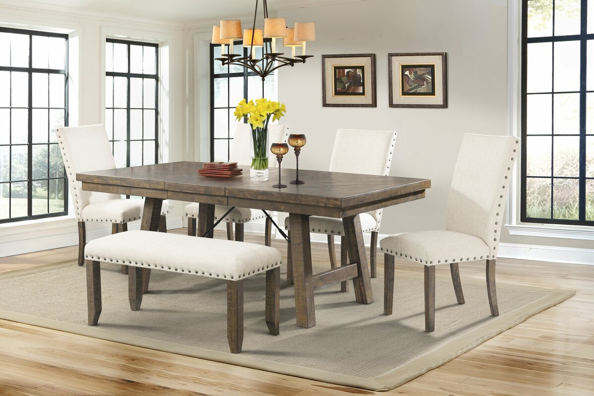 Dining Room Table Bench. Dearing 6 Piece Dining Set Room Table Bench S