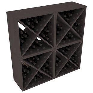 Karnes Pine X-Cube 96 Bottle Floor Wine Rack